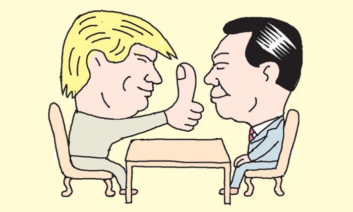 [만물상] 신동빈과 마주 앉은 트럼프