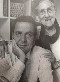 2000년 슈뢰더와 어머니 에리카 포슬러.