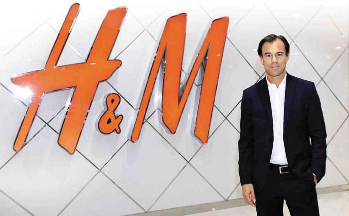 카를 요한 페르손 H&M 최고경영자(CEO).