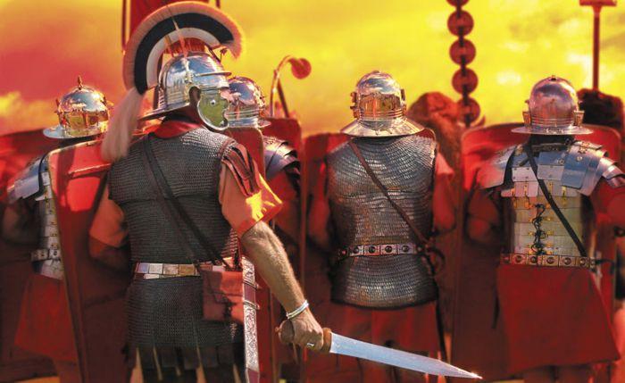 로마군은 무적이 아니었다. 한니발 전쟁에서 알 수 있듯이 연이어 대패를 당한 적도 있다. 그러나 전투에 져도 결국 전쟁에는 이기는 것이 로마군이었다. 적을 두려워하지 않는 용기, 패배에도 포기하지 않는 불굴의 의지가 있었기 때문이다.