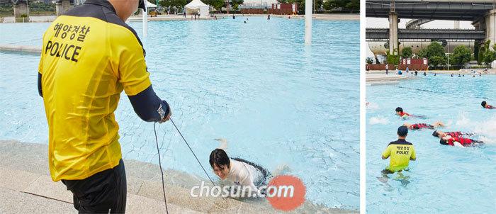 생존 수영 강습 직접 받아보니