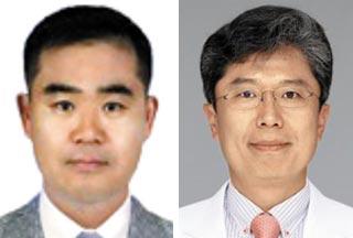 김동윤(왼쪽), 최창휴
