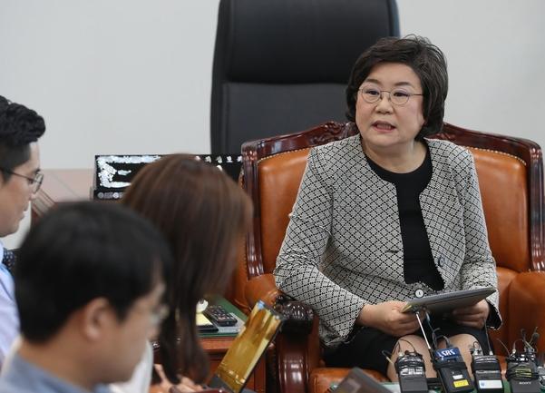 국회 정보위원장인 바른미래당 이혜훈 의원/연합뉴스