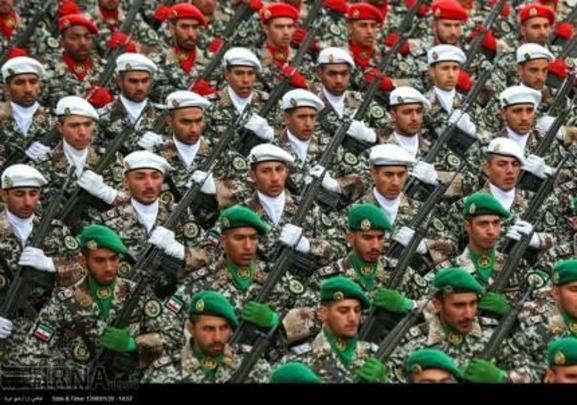 이른바 '이란 혁명수비대'로 불리는 이슬람 혁명 수비군./IRNA