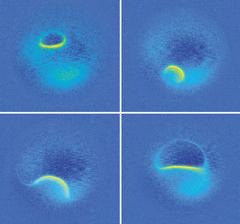 '주사터널링현미경'을 통한 모습