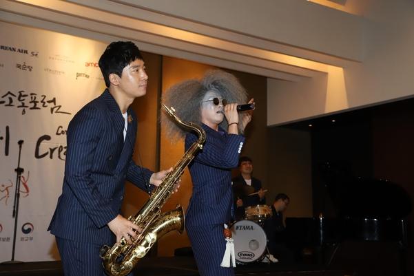 CCF 2019 문화소통의밤, 한국 대표 이희문 소리꾼과 재즈밴드 프렐류드의 특별공연, '청춘가' 와 '난봉가'