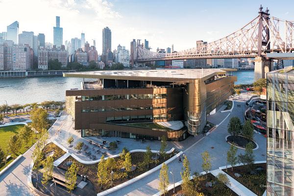뉴욕의 실리콘 앨리에 있는 코넬텍 전경. 인구 862만명이 밀집해 있는 미국 최대 도시 뉴욕에는 약 20만 개의 기술 개발 일자리와 1만4000여 개의 스타트업이 있는 것으로 추산된다.