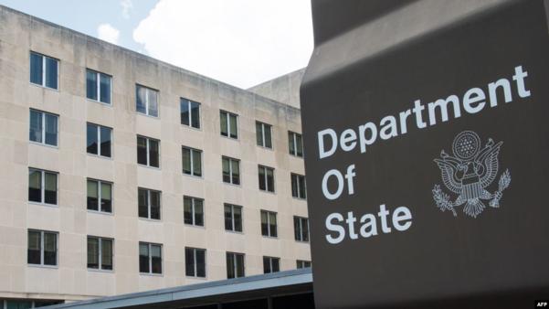 미국 워싱턴DC의 국무부 건물./AFP·VOA 캡쳐
