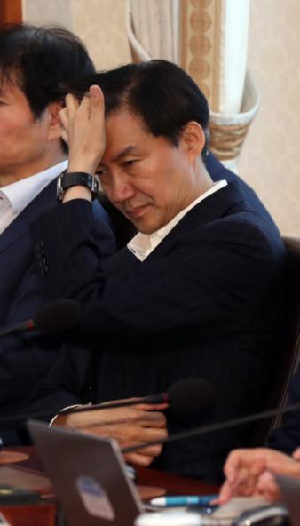 조국 청와대 민정수석./연합뉴스