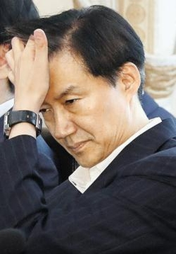 지난 2일 오전 청와대에서 열린 국무회의에 참석한 조국 수석. /연합뉴스