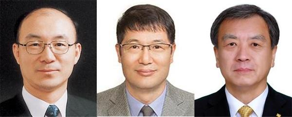 청와대가 26일 임명한 김조원(왼쪽부터) 신임 민정수석비서관, 황덕순 일자리수석비서관, 김거성 시민사회수석비서관.