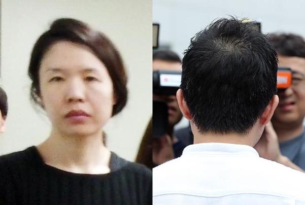 고유정(왼쪽)과 현 남편 A씨. /연합뉴스