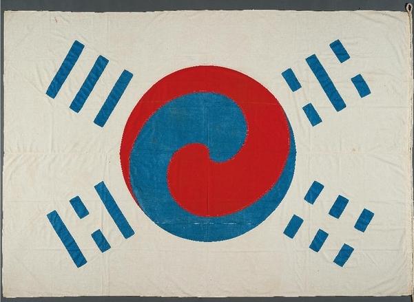 국내 최고(最古) '데니 태극기'/국립중앙박물관