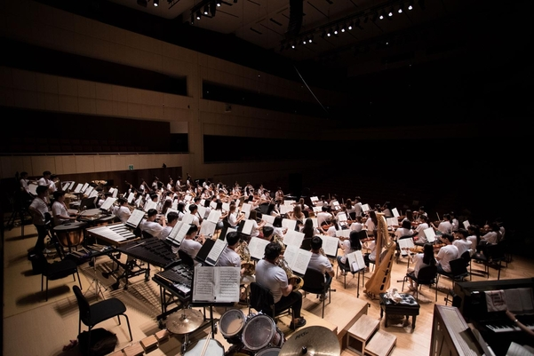 지난해 솔라시안 유스 오케스트라 공연 모습. / 대구콘서트하우스 제공