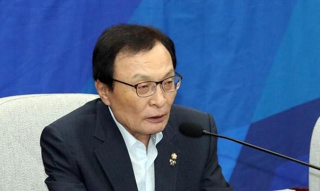 더불어민주당 이해찬 대표가 14일 오전 국회에서 열린 확대간부회의에서 발언하고 있다. /연합뉴스