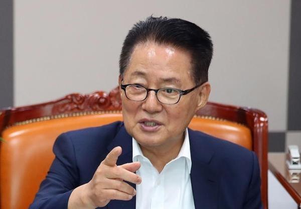 '변화와 희망의 대안정치연대' 소속 박지원 의원./연합뉴스