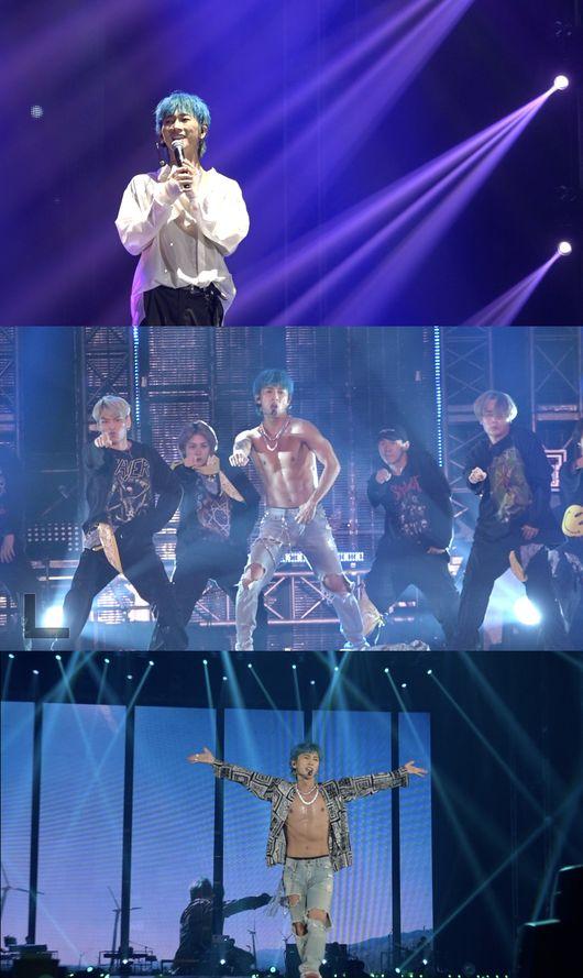 장우혁, H.O.T. 콘서트서 상의 탈의+미공개 솔로곡 퍼포먼스..'황홀'[Oh!쎈 컷]