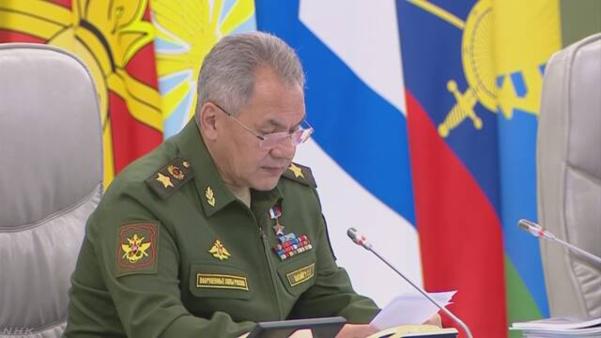 세르게이 쇼이구 러시아 국방장관. /NHK