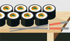 평범한 김밥이 달라졌어요!…전국 이색 김밥 지도
