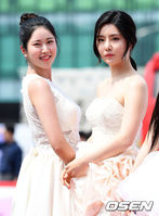 [사진]브레이브걸스 하윤-유나,'순백의 여신'