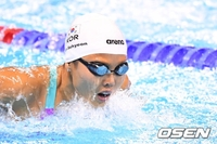 안세현, 女 접영 200m도 결승 진출... 준결승 전체 8위