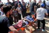 '美대사관 이전 반발' 팔레스타인 시위대, 이스라엘 총격에 37명 사망