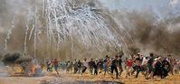 美대사관 문 연 날… 이스라엘軍, 가자지구 하마스 기지도 공습