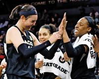 WNBA 도전 박지수, 개막전 이름 올릴 수도