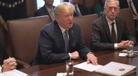 """트럼프 """"북한, 대형 실험장 4곳 폭파…전면적 비핵화 이미 시작"""""""