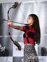 [포토] 이혜리 '활 장인~ 조선시대 열혈녀'