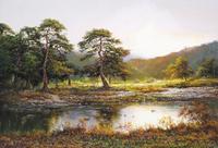 油畵에 담은 북한의 풍경