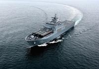 네번째 차기상륙함 '노적봉함' 해군에 인도