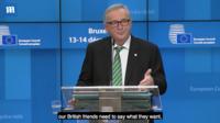 """EU """"브렉시트 재협상 재고해달라"""" 메이 요구 거절"""