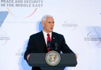 """美 펜스 """"유럽 동맹국, 이란 핵합의 탈퇴·제재 동참해야"""""""
