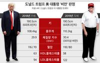 '감튀 마니아' 트럼프, 몸무게 110kg으로 불고 '비만' 판정