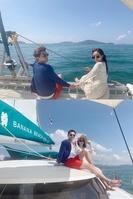 김상혁·송다예 신혼여행, 요트투어