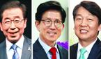 與 서울시장 후보 박원순… 김문수·안철수와 붙는다
