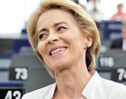 7남매 엄마, EU 첫 여성 수장 됐다