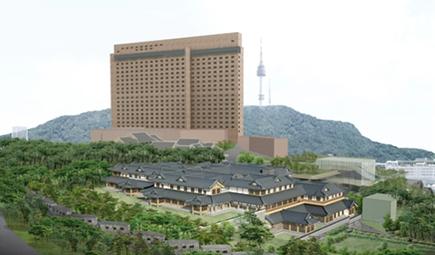 남산 한옥호텔 지어진다...호텔신라, 건축심의 통과