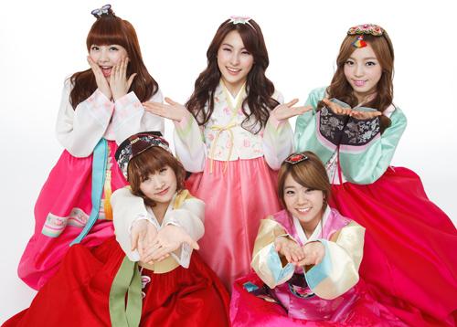 사진 (왼쪽 위부터 시계방향) 지영, 규리, 하라, 승연, 니콜 순 / DSP미디어
