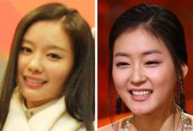 김아중, 박진희.