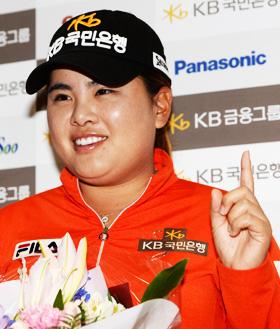 여자 골프 세계 랭킹 1위 박인비