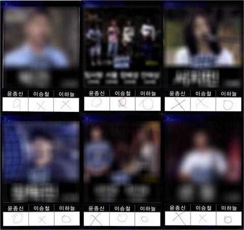 슈퍼스타K5 심사 평가지 공개/ Mnet '슈퍼스타K5' 방송 캡쳐