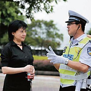 보시라이 전 충칭시 서기의 아내 구카이라이와 그의 수하 왕리쥔 전 충칭시 공안국장(오른쪽). photo 웨이보