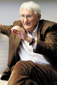 위르겐 하버마스 독일 프랑크푸르트대 명예교수.