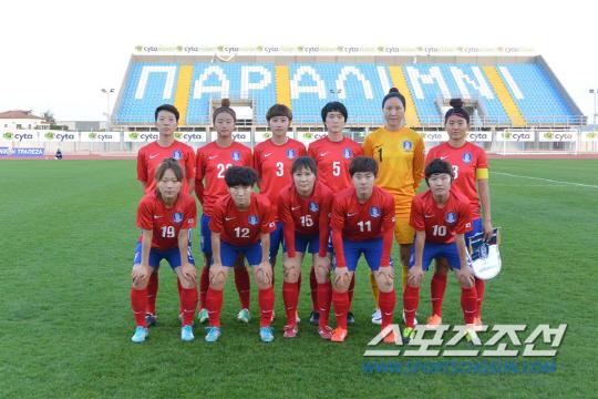 ◇키프러스컵에 출전중인 대한민국 여자대표팀