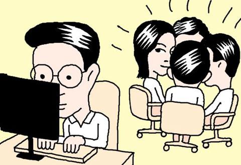 [김대리의 뒷담화] 외톨이처럼 조용한 K 과장… 사람과 부대끼는 직장생활이 그에겐 戰爭