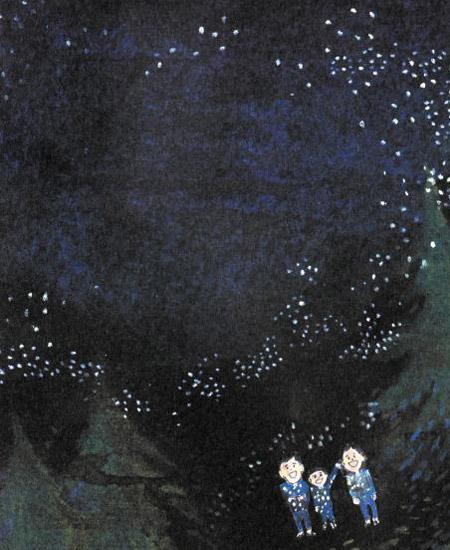 [어린이책] 엄마 아빠랑 보러 간 별… 우릴 보려고 반짝이네