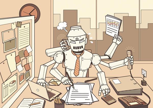 직장에서의 일을 돕는 첨단 기기가 많아졌지만, 일은 결코 줄지 않는다. 중요한 결정은 사람이 아닌 컴퓨터가 내릴 때도 많다. 우리는 판단력이 흐려진 채 매일 눈앞의 일만 처리하면서 점점 멍청해지고 있는 것은 아닌지.
