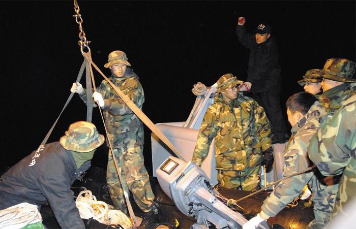 UDT 대원들 사진
